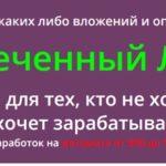 Курс: «Обеспеченный лентяй» скачать бесплатно